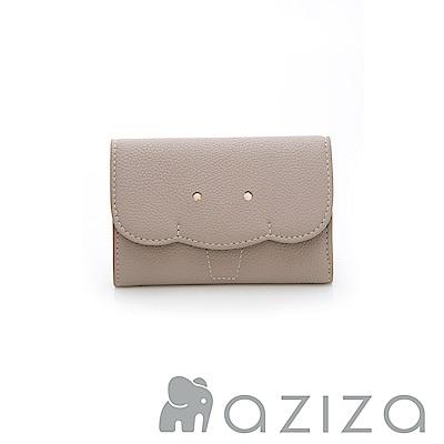 AZIZA 小象名片夾-灰