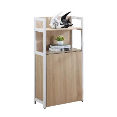 柏蒂家居-肯特2.1尺多功能收納櫃/工作桌-64x30x120cm