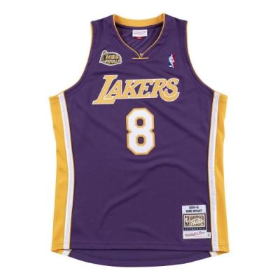 M&N Authentic球員版復古球衣 湖人隊 00-01 #24 Kobe Bryant