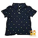 【LOVEDO-艾唯多童裝】超級巨星 潮流短袖Polo衫(深藍)