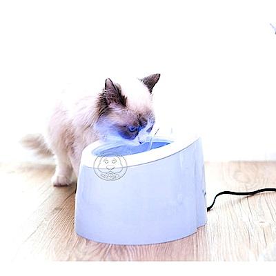 dyy》自動循環貓狗夜燈款飲水器餵水器2L
