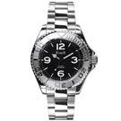 FIBER 美國超時尚夜光運動機械腕錶FB8008-06A-黑白/40mm