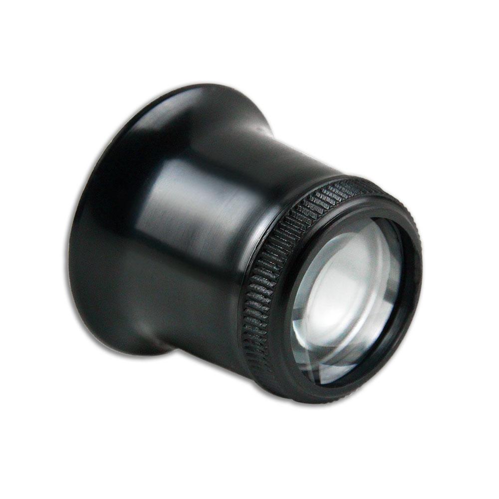 【日本 I.L.K.】6x/23mm 日本製修錶用單眼罩式放大鏡 7230