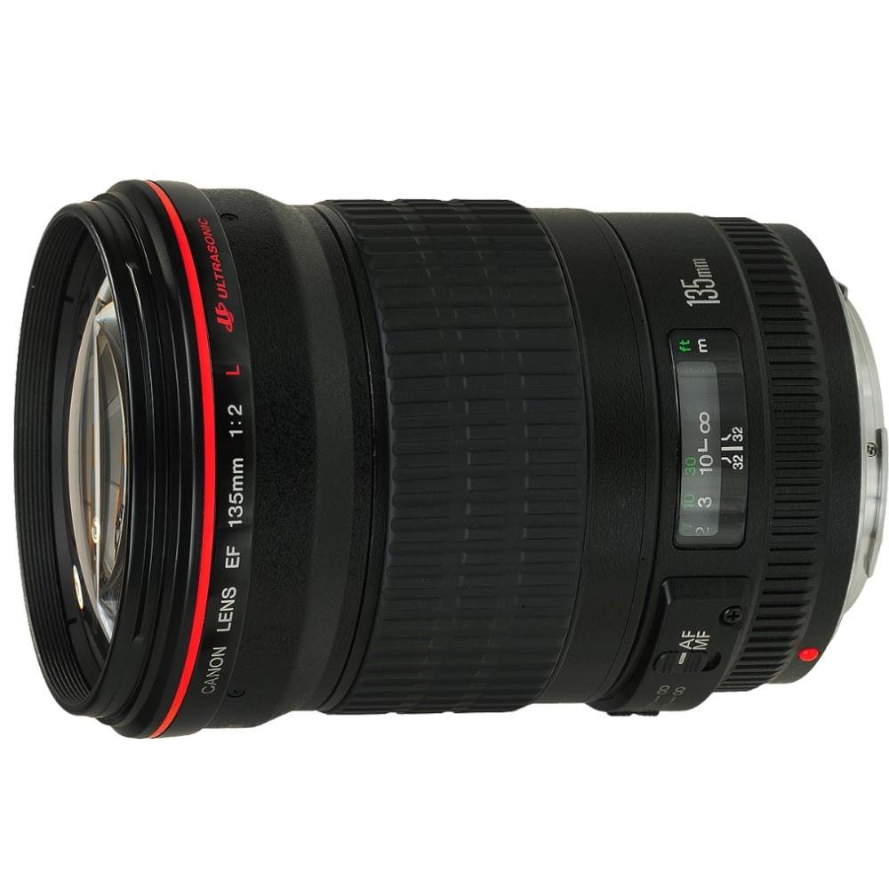 【福利品】Canon EF 135mm F2L USM 望遠鏡頭 (公司貨)