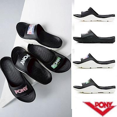【PONY】PONY 輕量運動拖鞋 涼鞋 男女款 共10色