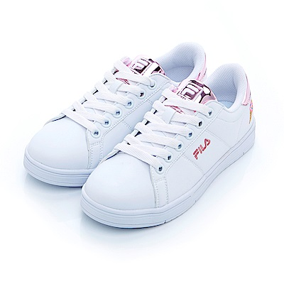 FILA #水果蘇打 女款潮流復古綁帶鞋-粉紅 5-C604S-510
