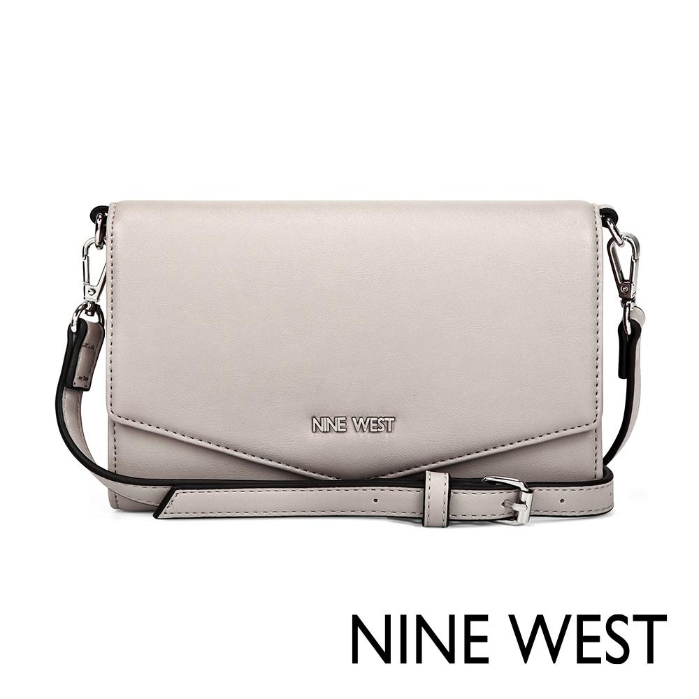 NINE WEST WHITLEY信封式萬用包-淺灰(517662)