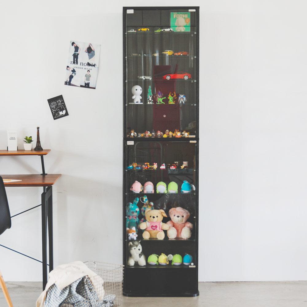 完美主義 180cm玻璃櫃/展示櫃/公仔收藏/酒櫃(2色可選) product image 1