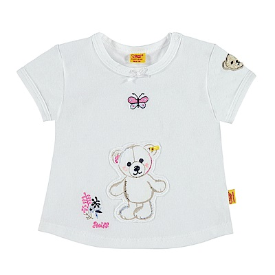 STEIFF德國精品童裝 短袖上衣 花園散步熊熊