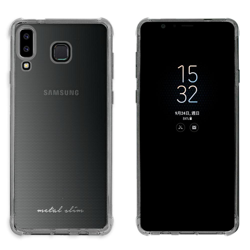 Metal-Slim Samsung Galaxy A8 Star 防摔抗震空壓手機殼