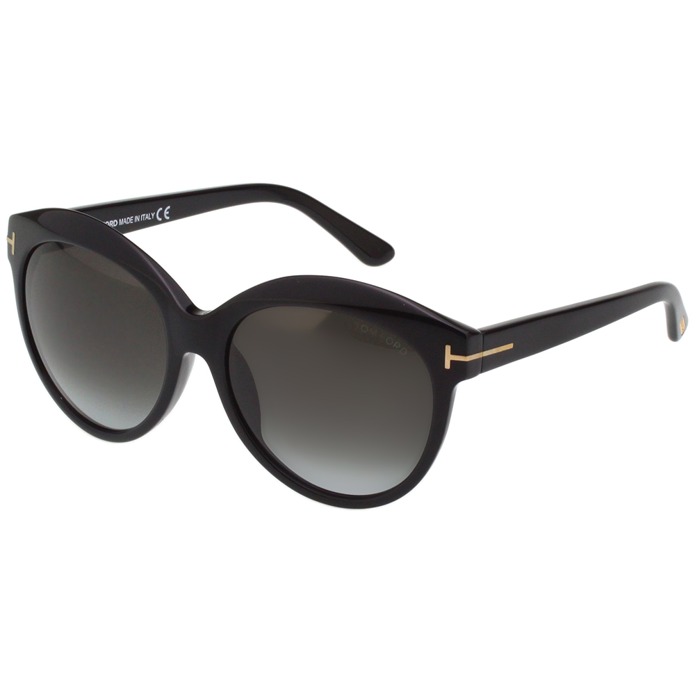TOM FORD 復古 太陽眼鏡-黑色-TF9259
