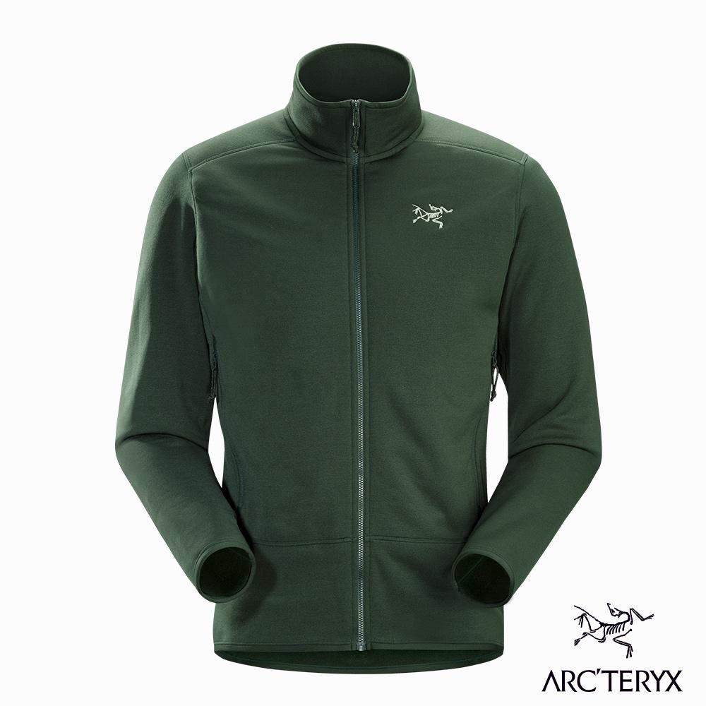 Arcteryx 男 Kyanite刷毛外套 針葉綠 @ Y!購物