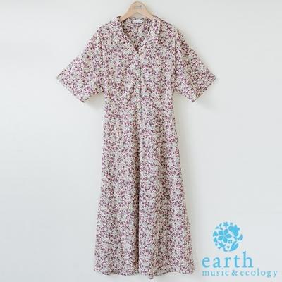 earth music 襯衫領洋裝