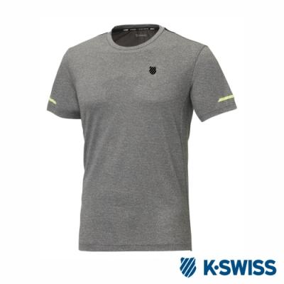 K-SWISS T-Shirt 韓版短袖T恤-男-灰