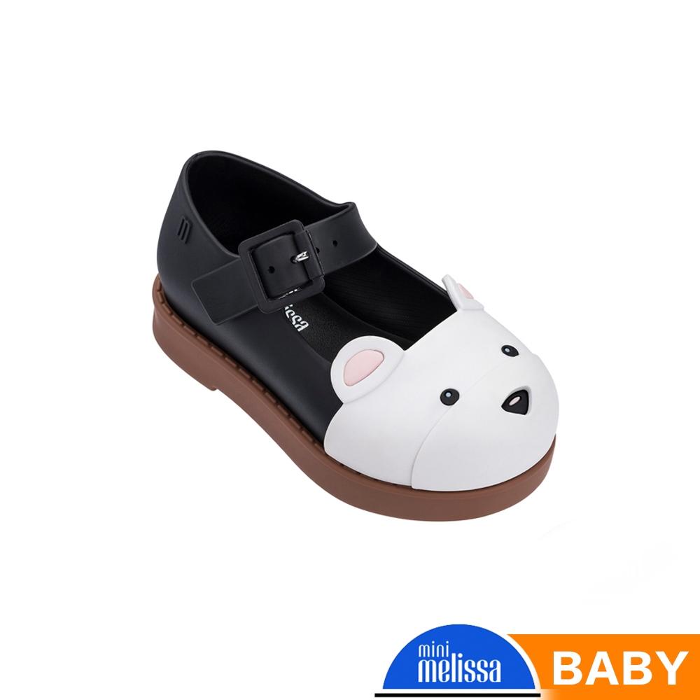 Melissa 可愛動物系熊熊休閒鞋 寶寶款 黑