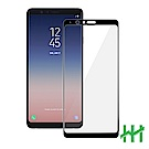 鋼化玻璃保護貼系列 Samsung Galaxy A8 Star (6.3吋)(全滿版黑)