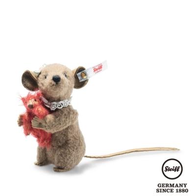 STEIFF德國金耳釦泰迪熊 Xenia mouse with Teddy bear (限量版)