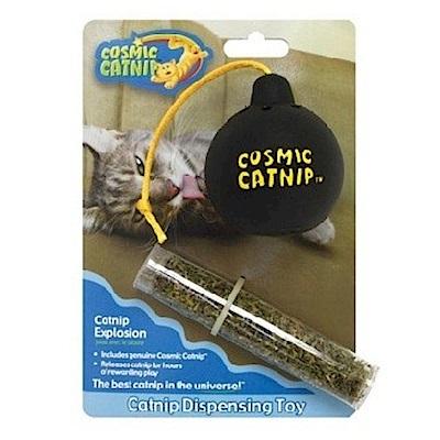 100%天然可填充橡膠貓草玩具 - 炸彈