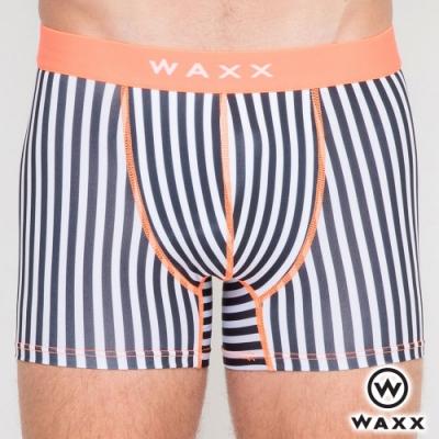 WAXX 黑白無間道-四面超彈性快乾四角男內褲