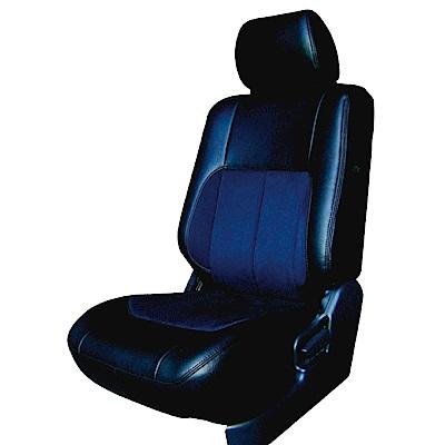 【葵花】量身訂做-汽車椅套-日式合成皮-麂皮配色-B款-露營車款-1+2排