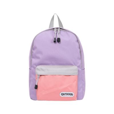 【OUTDOOR】玩色系列-後背包- 紫/灰色 OD101128PG