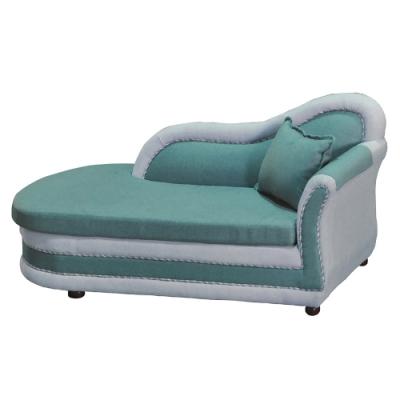 綠活居 卡麥隆時尚雙色棉麻布貴妃椅(左&右二向扶手可選)-180x77x87cm免組