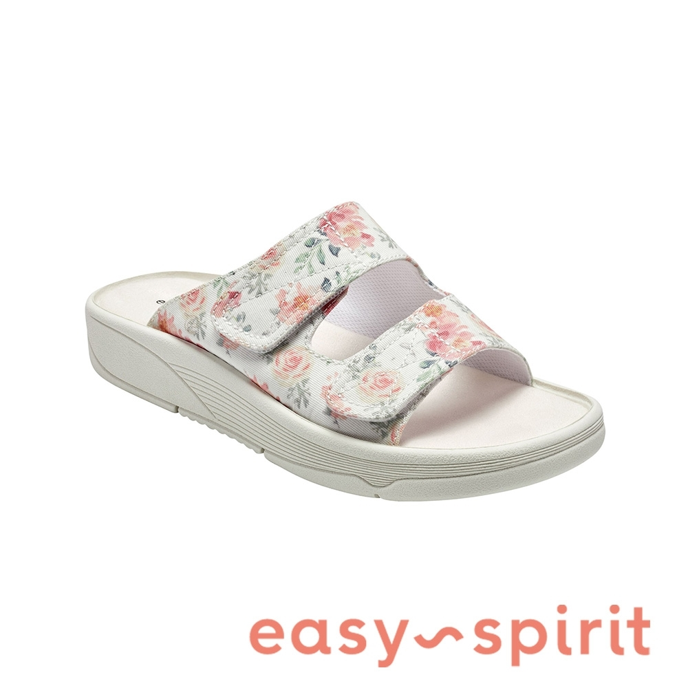 Easy Spirit-seRED2 舒適厚底休閒拖鞋-花色