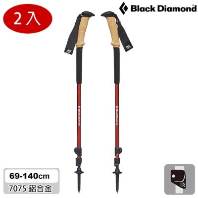 Black Diamond Trail Ergo Cork 登山杖112506 (一組兩支) / 火焰紅