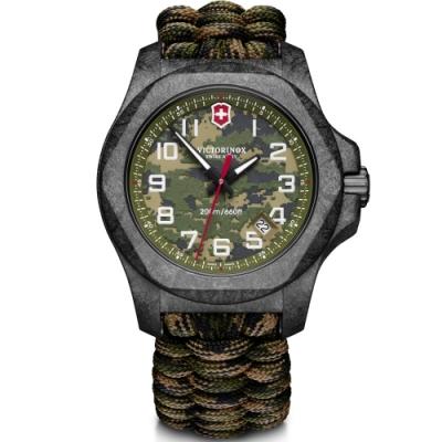 VICTORINOX SWISS 瑞士維氏I.N.O.X. Carbon Limited Edition 碳纖維迷彩限量腕錶 VISA-241927.1-43mm