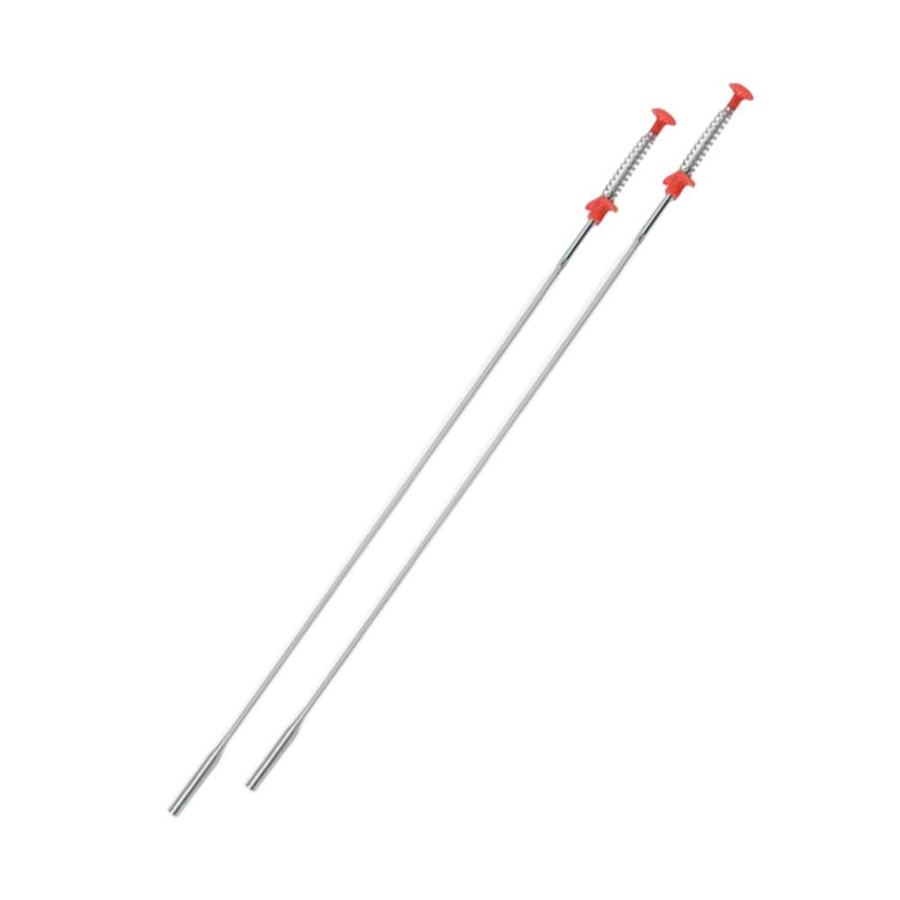 可彎曲水管毛髮清理夾-1組(2條)