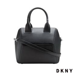 DKNY 個性稜角時尚簡約手提包 黑