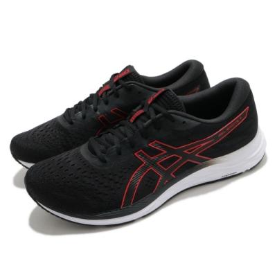 Asics 慢跑鞋 Gel-Excite 7 運動 男鞋 亞瑟士 入門款 輕量 緩衝 避震 黑 紅 1011A657004