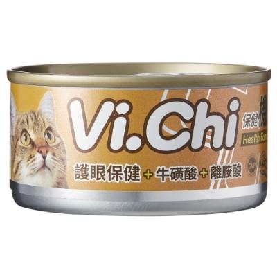 Vi.chi 維齊 維齊保健機能貓餐罐系列-護眼保健(80g/罐x24罐)