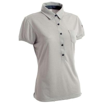 法國【EiDER】女排汗透氣短袖POLO衫/  EIT2651灰