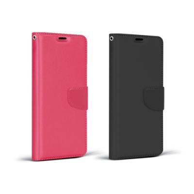 MI 紅米 Note 9 商務可立式掀蓋皮套(2色)