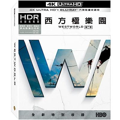 西方極樂園 第二季 4K UHD+BD 六碟 限量收藏版  藍光 BD