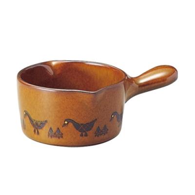 日本 MEISTER HAND 牛奶鍋-棕色鴨