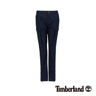 Timberland 女款深藍色彈力舒適休閒褲|B1201
