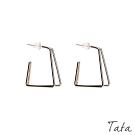 立體幾何耳環 TATA