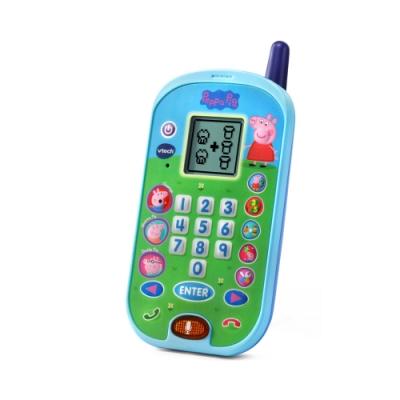【Vtech】粉紅豬小妹-智慧學習互動小手機