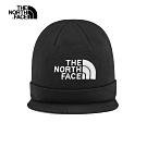 The North Face北面男女款黑色保暖毛帽|3FL9JK3