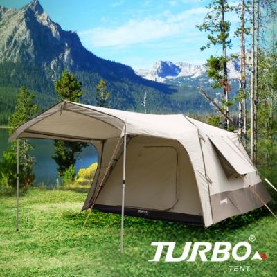 【Turbo Tent】 Lite 300-一房一廳八人帳篷(30秒專利快速帳)
