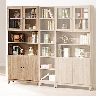 H&D 金美2.7尺四門書櫃