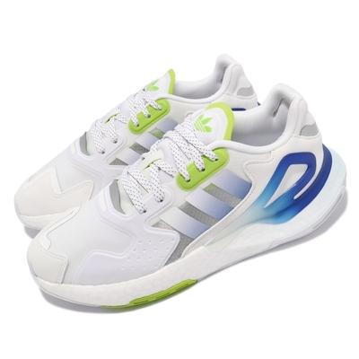 adidas 休閒鞋 Day Jogger 運動 男鞋 愛迪達 輕量 透氣 舒適 避震 穿搭 白 藍 GW4912