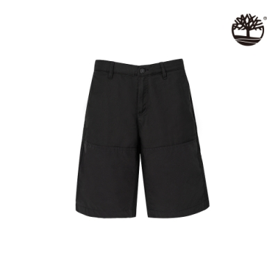 Timberland 男款黑色工作風短褲|A2BDV
