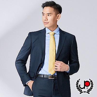 極品西服 品味風範小劍領西裝外套_丈青直條(AW735-3G)