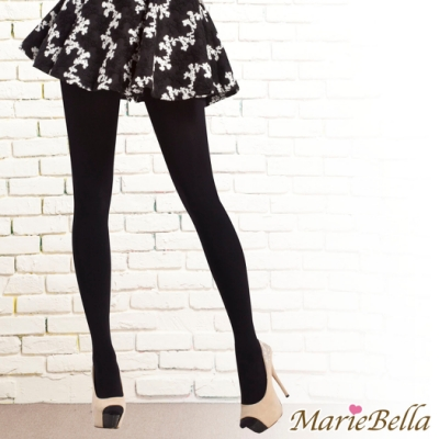 MarieBella 240D高彈力刷毛保暖褲襪