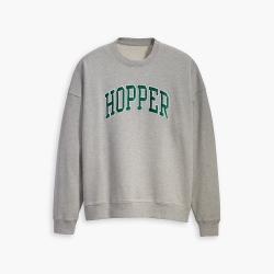 男女同款Hopper重磅落肩大學T