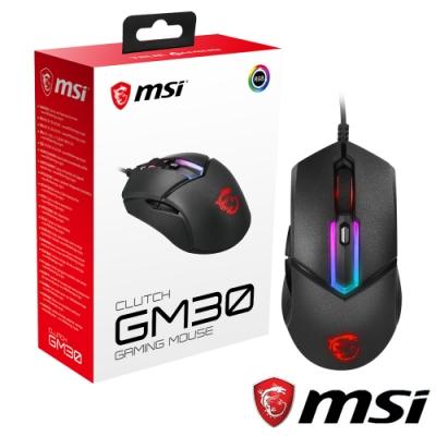 MSI微星 Clutch GM30 電競滑鼠