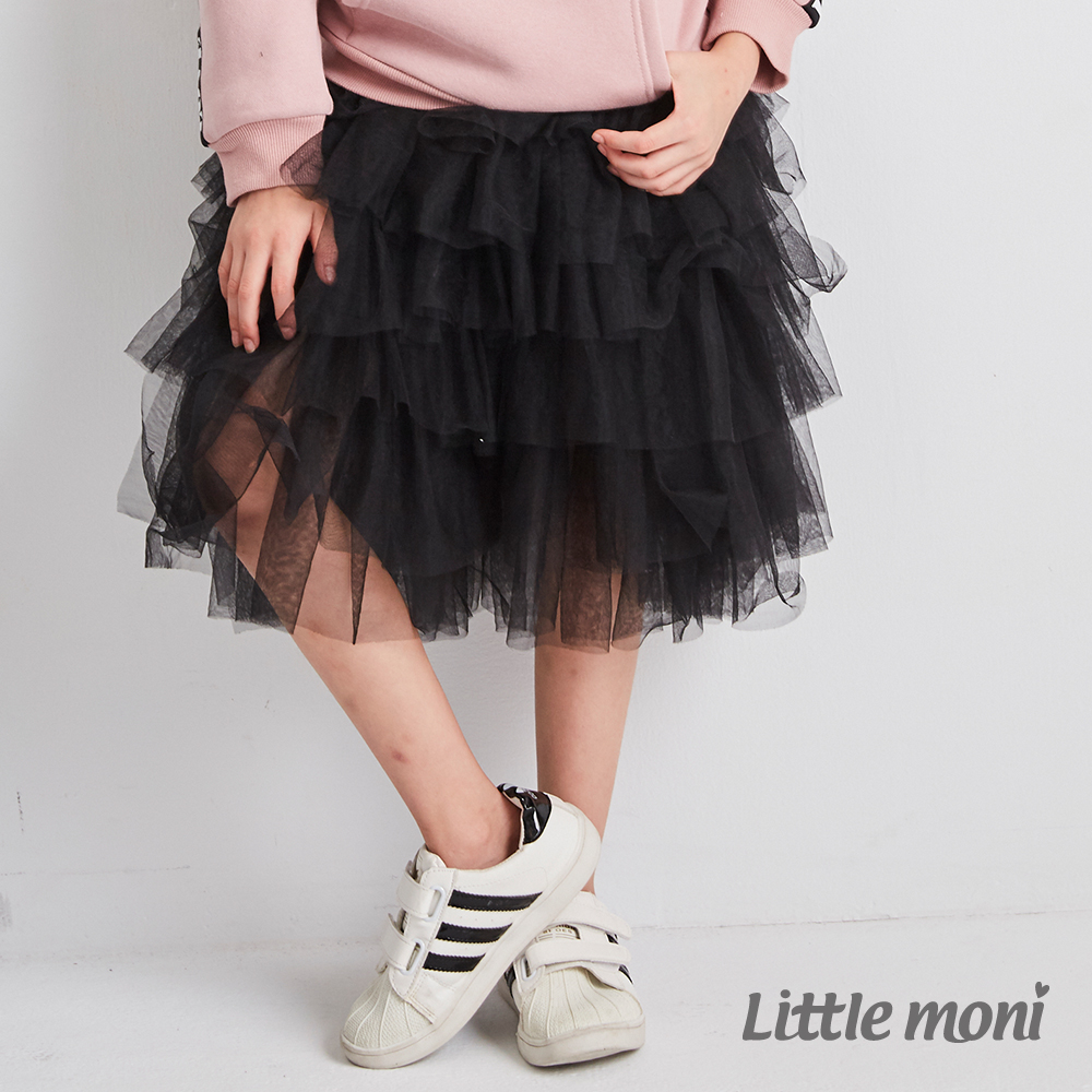 Little moni 網紗蛋糕裙(兩色可選)